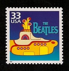 Fifty years ago the Beatles invaded America with a musical sound and style that permanently influenced American music. Description from postalmuseumblog.si.edu. I searched for this on bing.com/images