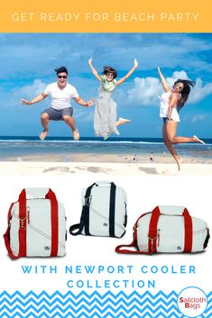 Beach party season starts soon. Check out  some great accessories - insulated cooler bags for beer, wine, water or soda. Cooler bags for big company. Insulated bags for family. Beach beer coolers for those who love to have their personal cold one on a hot day on a beach.  #coolerbag #softcooler #beachcooler #beachcoolerbag #thermosbag #canvascooler #insulatedbag #beercooler #beercoolerbag #beachbeercooler #beachpartybag #beachparty #drinkscooler #travelcooler #insulatedbeerbag