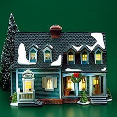 """Department 56: Products - """"Berkshire House"""" - View Lighted Buildings"""
