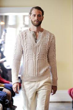 great knit, Omar Kashoura SS13, London