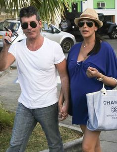 """Extra"" can confirm that Simon Cowell's girlfriend, Lauren Silverman, is in labor at NYC's Lenox Hill hospital! Valentines Day Presents, Valentine Special, Britain Got Talent, Baby Momma, Simon Cowell, Scandal, Panama Hat, Girlfriends, Looks Great"