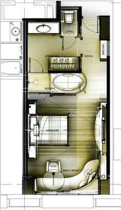 acb5335d173 一个酒店的标准间30种思路 - 方案讨论 - 室内中国 INTERIOR DESIGN