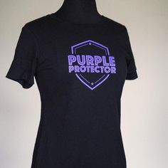 Official merchandise to support the PRN Alumni Foundation. Design concept: Protecting Prince's philanthropic legacy. This tee features the Purple Protector logo designed by David Schwartz & Steve Parke. Available in two colors. NOTE: sizes tend to run small Foundation, Logo Design, David, Concept, Note, Purple, Tees, Colors, Mens Tops