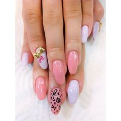 Barbie Pink Almond nails