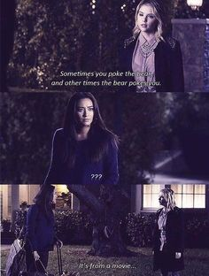 If there's any character on Pretty Little Liars that will keep you entertained no matter how dark the situation can get, it's Hanna Marin. From being sassy and confident to having the best quotes ever, here are the moments when Hannah ruled Pll Quotes, Pll Memes, Movie Quotes, Funny Quotes, Pretty Little Liars Hanna, Pretty Little Liars Quotes, Pretty Girls, Hanna Marin Quotes, Hanna Pll