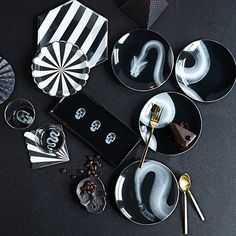 West Elm, interior design, home decor, home accessories, dish-ware, kitchen, kitchenwares, goth, plates