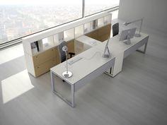 Escritorio de oficina operativo con estantes JOINT by ESTEL GROUP