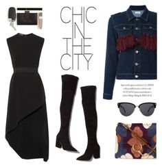 """Chic In The City"" by junglover ❤ liked on Polyvore featuring Au Jour Le Jour, Loeffler Randall, Narciso Rodriguez, Chloé and Valentino"
