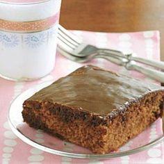 Chocolate Cola Cake with Cola Frosting (MyRecipes.com)