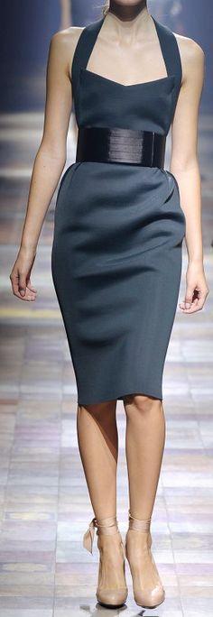 Lanvin, pencil dress.