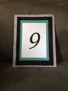 DIY table numbers.... maybe.... gotta think how to display it