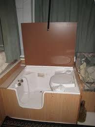 Image result for toilet inside shower