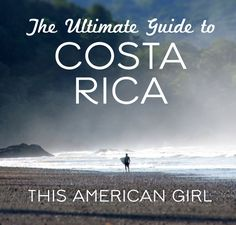 The Ultimate Guide to Costa Rica - This blog has the best information about puerto viejo