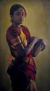 Realistic Oil Painting By Elayaraja