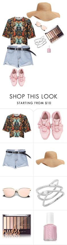 """""""Ready to go...."""" by ana-nine on Polyvore featuring Puma, Old Navy and Essie"""