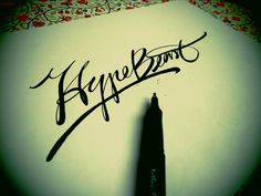 Lettering sketches by Tadas For Sure, via Behance