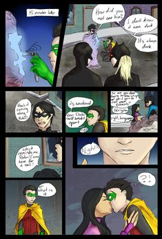 You are such a Tsundere, D. Rule 63 Damian Wayne and Mar'i Grayson - presumably of Earth-11 where everyone is the opposite gender of what they are in the core verse (and oh god that gives scary tho...