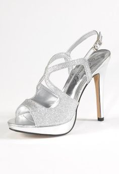 High Heel Platform Glitter Sandal from Camille La Vie and Group USA