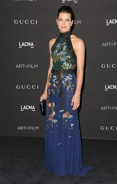 Charlotte Casiraghi attends the 2014 LACMA Art + Film Gala honoring Barbara Kruger and Quentin Tarantino presented by Gucci at LACMA in Los Angeles, California. 01 November 2014
