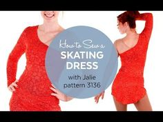How to Make a Skating Dress (Jalie Pattern 3136) - YouTube