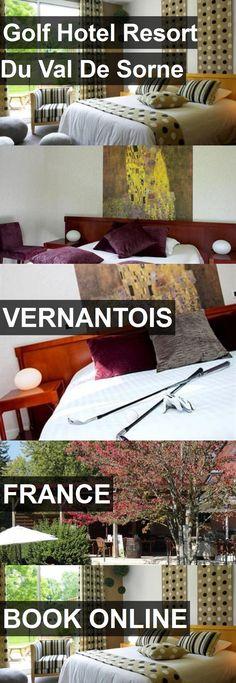 Golf Hotel Resort Du Val De Sorne in Vernantois, France. For more information, photos, reviews and best prices please follow the link. #France #Vernantois #travel #vacation #hotel