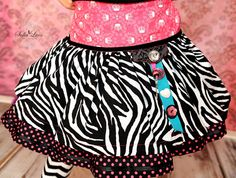 Glamour Posh Safari Mikayla Skirt Sewing Kit by AllegroFabrics Sizes 4-12