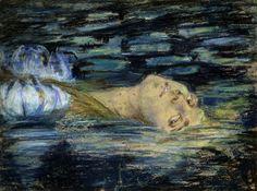 La crinière - zombienormal:   Waterlily, Alice Pike Barney,...