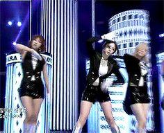 Jiyeon - Sexy Love Performance GIFs T-ara