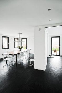 Luxury Renovated Farmhouse - minimalist dining room
