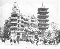 Paris - Exposition Universelle 1900 - Le tour du monde.