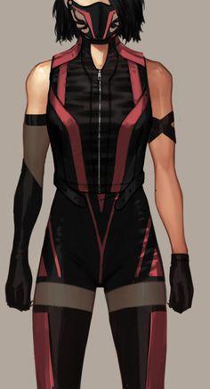 Farewell - Geek World Superhero Suits, Superhero Design, Superhero Costumes Female, Anime Outfits, Fashion Outfits, Mortal Kombat Art, Mileena, Super Hero Outfits, Drawing Clothes