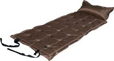 Satin PVC/Suede  21-Points Self-Inflating Satin Mattress, great quality and comfortable. Ideal for camping.  Dimensions: 190cm x 65cm x 3.5cm  Available in: Brown, Olive Green & Dark Blue #airmattress #inflatablesatin #airmattresswithpillow #campinggear #campingequipment #campinggadget