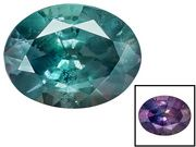 Brazilian Alexandrite Minimum .30ct Mm Varies Oval, Good Color Change (AXV126)