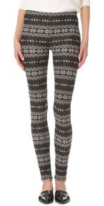 Make Plush Fair Isle Leggings Deals Learn How