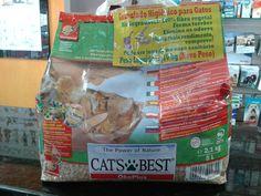 Essa areia para caixas de gatinhos pode ser descartada no vaso sanitário, sem problemas!