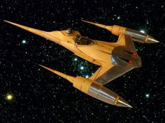 Star Wars Naboo Starfighter Paper Model | Tektonten Papercraft