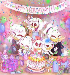 more Dewey n' Gos | Duck-Tales Amino Barbie, Disney Cartoons, Disney Pixar, Happy Birthday Disney, 2017 Wallpaper, Three Caballeros, Disney Ducktales, Alphabet Wallpaper, Duck Tales