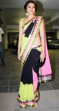#Anushka Sharma  #saree  #sari  #saaree