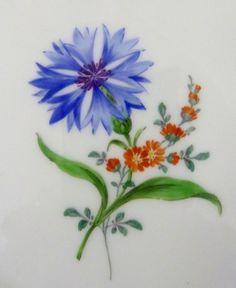 Meissen Teller, Neumarseille , Blumen Dekor, Durchmesser =15,5 cm, #4 | eBay