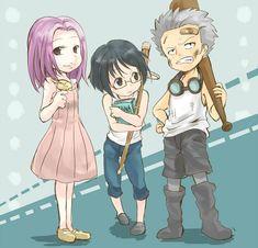 Hina, Tashigi and Smoker