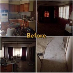 mobile home makeover   Mobile Home Makeover – Before and After Rehab Pictures