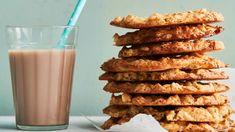 Finnish Recipes, No Bake Cookies, Baking Cookies, Margarita, Glass Of Milk, Cereal, Almond, Breakfast, Cake