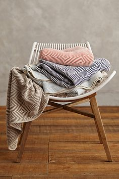 woven cotton throw #anthrofave