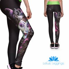 DARK FAIRY ATHLETIC LEGGINGS – Lotus Leggings