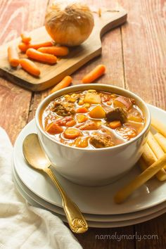 You'll love this savory, easy-to-prepare Vegan Beefless Stew for chilly fall and winter nights. Make up a pot and enjoy leftovers throughout the week!
