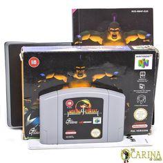 Mortal Kombat 4 Boxed - N64 Nintendo 64 Game Cartridge UK PAL in Video Games & Consoles, Games | eBay Mortal Kombat 4, Nintendo 64 Games, Game Sales, Video Game Console, Videos, Video Games, Films, Technology, Ebay