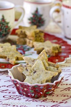 Our Pistachio Chocolate Shortbread Cookies are a must make this holiday season! These chocolate shortbread cookies are kissed with pistachios and crunchy Candy Recipes, Sweet Recipes, Holiday Recipes, Cookie Recipes, Dessert Recipes, Chocolate Shortbread Cookies, Galletas Cookies, Cookies Et Biscuits, No Bake Cookies