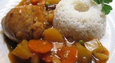Estofado de pollo - Comida Peruana