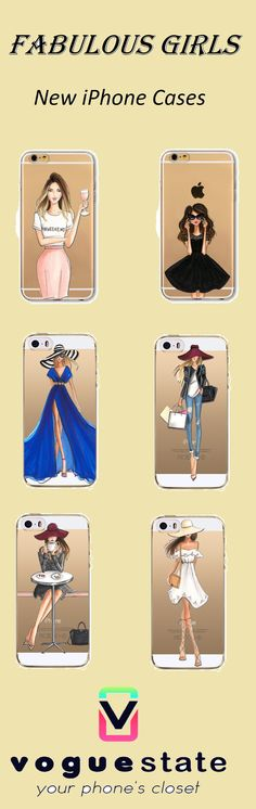Make your phone FABULOUS with these NEW Chic iPhone Cases!
