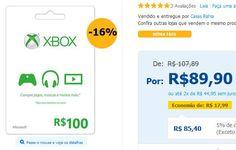 Cartão Presente Xbox Live R$ 100 << R$ 8540 >>